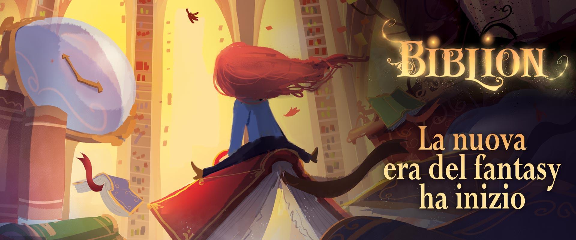 Biblion - Merilù Lanziani - La nuova era del fantasy ha inizio